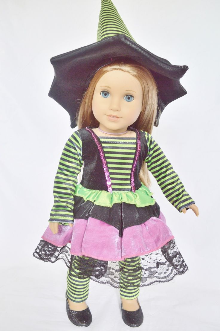 139 best american girl doll halloween witches images on Pinterest