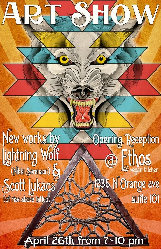 Scott Lukacs and Nikki Sorenson Art Show @ Ethos.