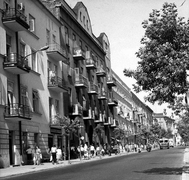 Na zdjęciu ul. Narutowicza około 1970 r.