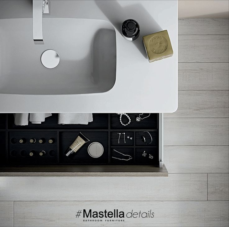 #‎MastellaDetails‬  The new collection Dress 2.0 is characterized by curved sides, feature that creates a sober and refined style.  #design #bathdesign #bathroom #italiandesign
