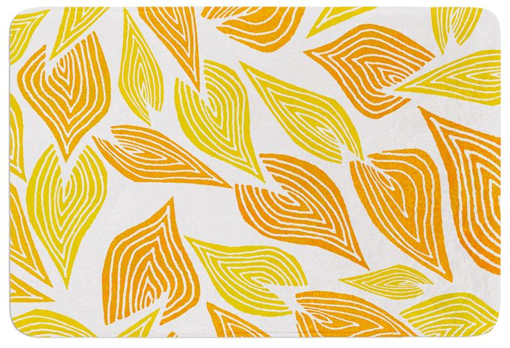 KESS InHouse Autumn by Pom Graphic Design Bath Mat