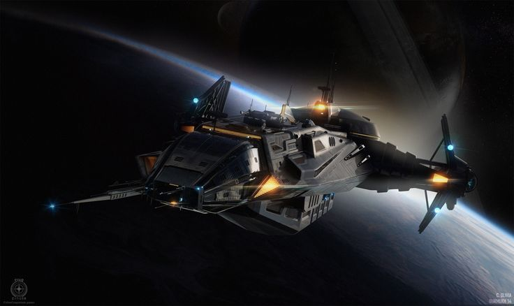 This is the Anvil Industries' Carrack, a 403-foot (123-meter) ship and a maximum crew of five. It is not real, but it feels real because every detail in its interior has been designed as if it were a real vessel. It's one of the ships from Chris Roberts' Star Citizenpersistent alternative universe, where I'm sure I will get lost forever.