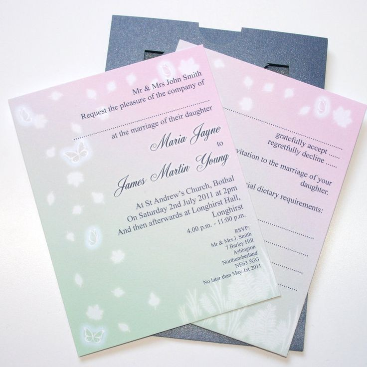 Mid Summer Nights Dream Wedding | Midsummer Nights Dream Wedding Invitation  Inserts By ~GraphicEmbers On