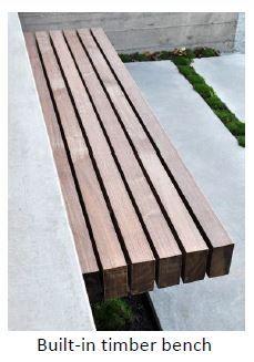 Floating bench (Ref. Img) - London ©Deepthi Martinet ©DM Design Studio