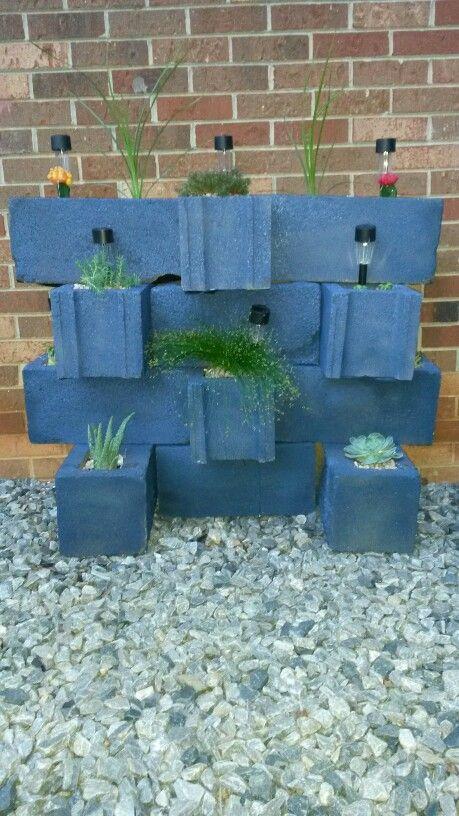 17 Best Images About DIY Cinder Blocks On Pinterest