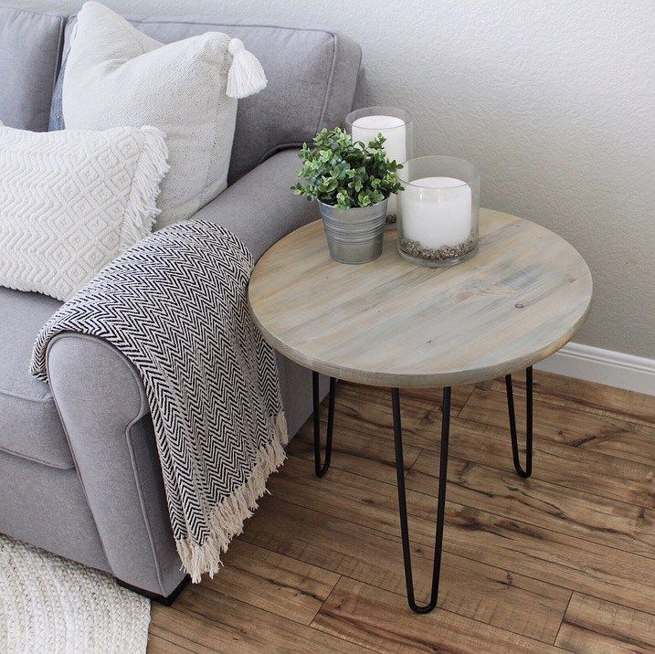 DIY Woodworking Ideas DIY Project – Simple Hairpin Tables