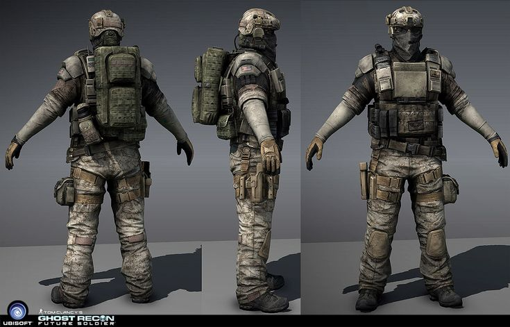 Ghost Recon Future Soldier Armor | ghost recon future soldier character soldier character from ghost ...