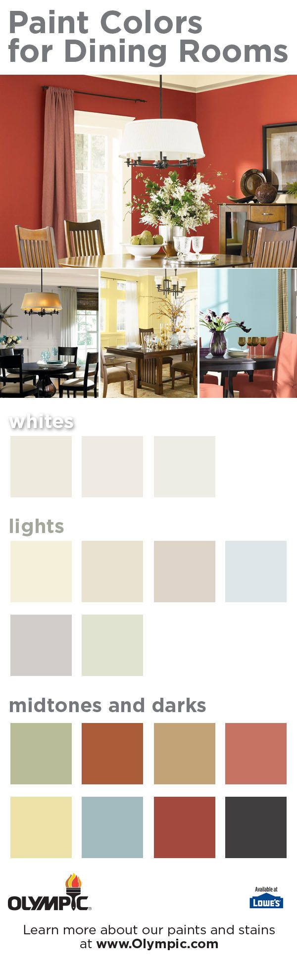 21 best dining room paint color schemes images on pinterest