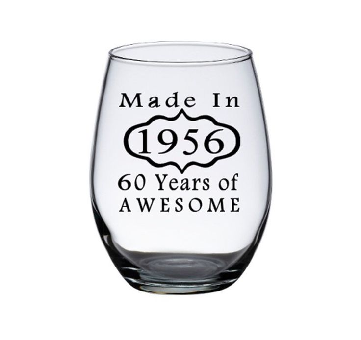 60th Birthday Wine Glass, Woman's 60th Birthday, 60th Birthday Man, Birthday Wine Glasses, 60th Birthday Gift, Personalized Wine Glasses by PersonalizedGiftsUS on Etsy https://www.etsy.com/listing/278320976/60th-birthday-wine-glass-womans-60th