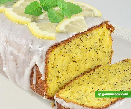 Plumcake al limone con semi di papavero