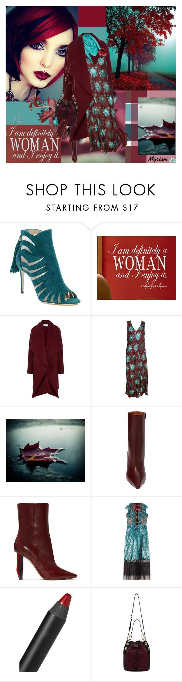 """""""I am definitely WOMAN and i enjoy it"""" by lovemeforthelife-myriam ❤ liked on Polyvore featuring Paul Andrew, WALL, Harris Wharf London, Dries Van Noten, Louis Vuitton, Vetements, Gucci, NARS Cosmetics, Kenzo and Mark & Graham"""