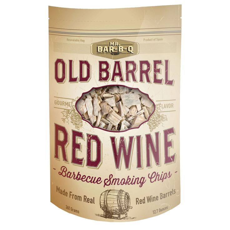 Mr. Bar-B-Q Old Barrel Red Barbecue Smoking Chips