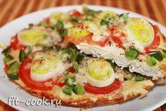 Диетическая пицца (Фитнесс-пицца) | Рецепты правильного питания