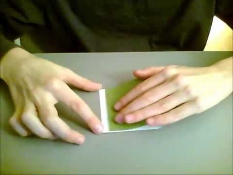 origami rana che salta