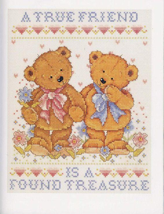 Gallery.ru / Фото #61 - Cross Stitch Teddies - KIM-2