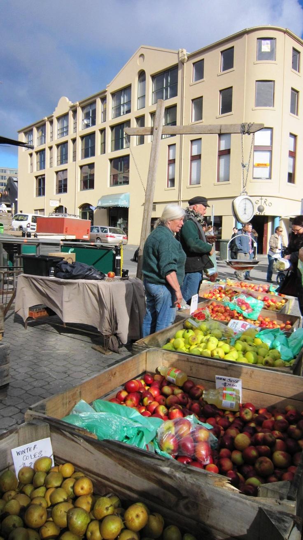 Salamanca Markets, Hobart, Tasmania, Australia.
