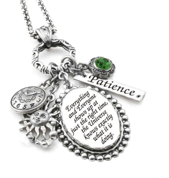 26 best inspirational jewelry images on pinterest inspirational charm necklace inspirational glass pendant silver inspirational quote jewelry inspiring necklace lifes aloadofball Images