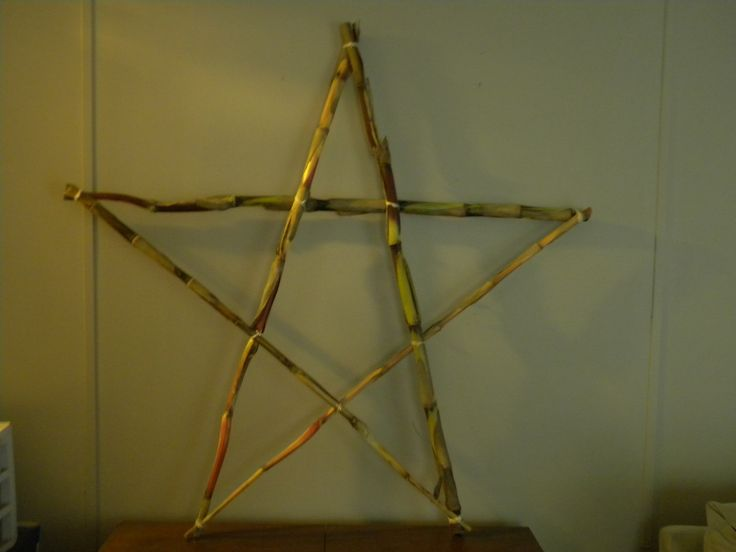 Corn stalk star
