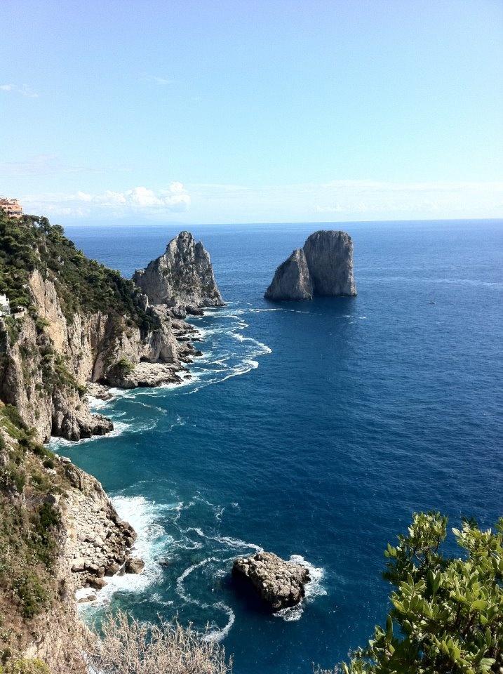 Isle of Capri, Italy. Credit: Samantha Barnes