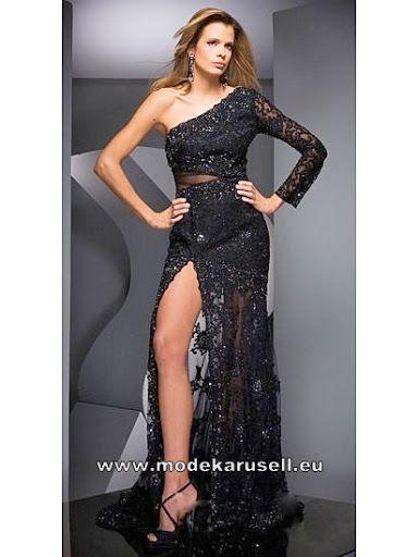 Sexy Abendkleid in Schwarz  www.modekarusell.eu