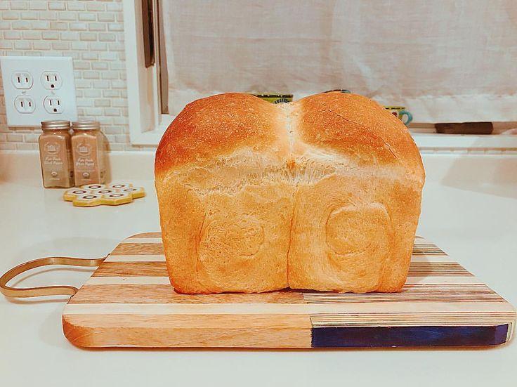 いいね!65件、コメント1件 ― @bonbonbotacoのInstagramアカウント: 「** * 明日のパン * * おやすみなさい * * * #イギリス食パン #山食 #手作りパン #おうちパン #日々のこと #日々の記録 #暮らしを楽しむ #丁寧な暮らし #homemade…」