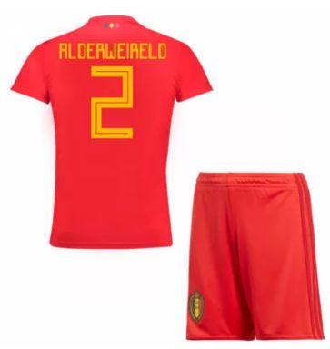 Belgium Jersey 2018-19 Home Soccer Kit #2 Alderweireld