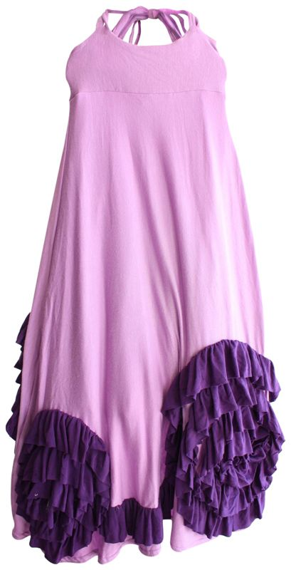 Pixie girl poppy maxi dress