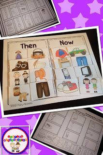 Then & Now Pilgrim Life Comparison (from Sharing Kindergarten)