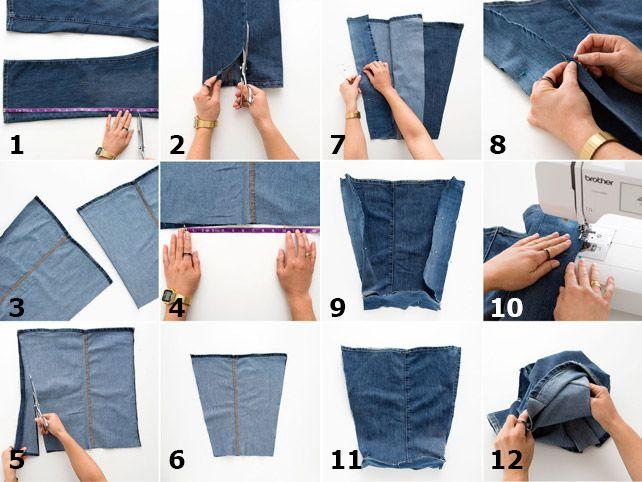 Oltre 25 fantastiche idee su borsa in jeans su pinterest for Borse fai da te jeans