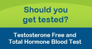Testosterone Free and Total Hormone Blood Test #healthcheck
