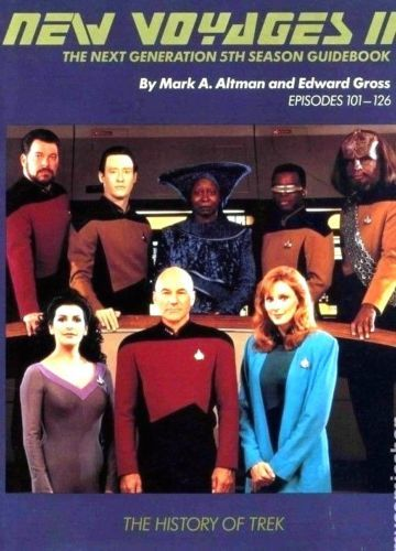 Star-Trek-Next-Generation-5th-Season-Guidebook-New-Collectible-Science-Fiction
