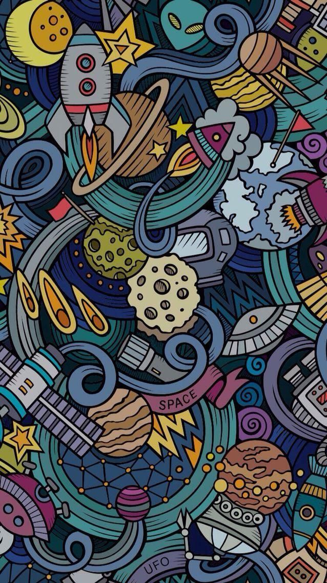 Doodle Wallpaper For Android Hd 3d Wallpapers In 2019