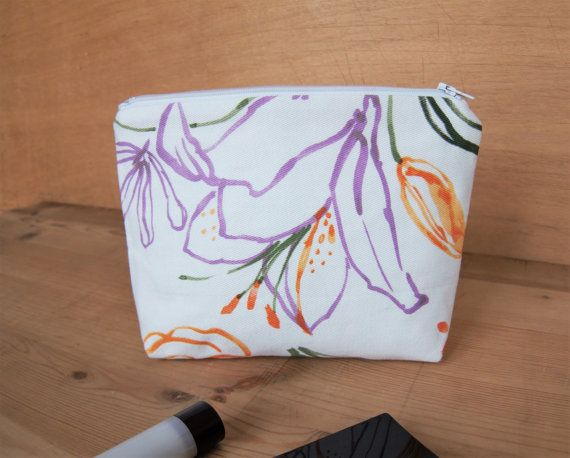 25 unique best gift for girlfriend ideas on pinterest quote for white cotton fabric makeup case small summer beach bag with tropical purple orange flowers zipped pouch best gift for girlfriend easter gift negle Gallery