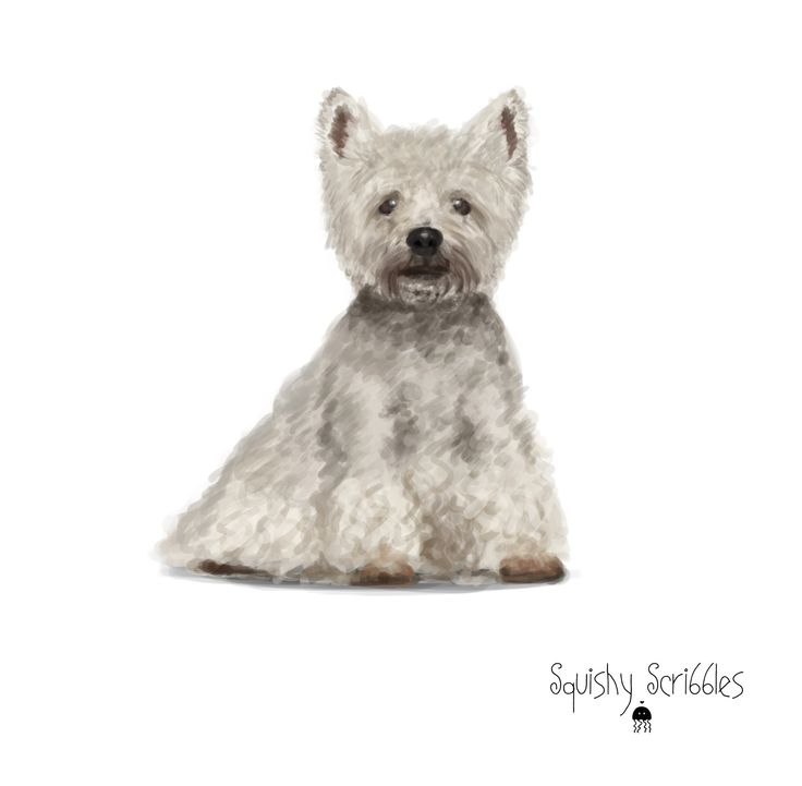 West Highland Terrier design