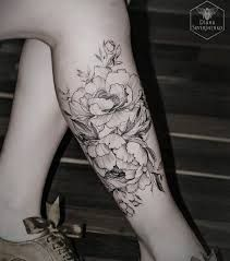 watercolor leg tattoos for women - Google Search