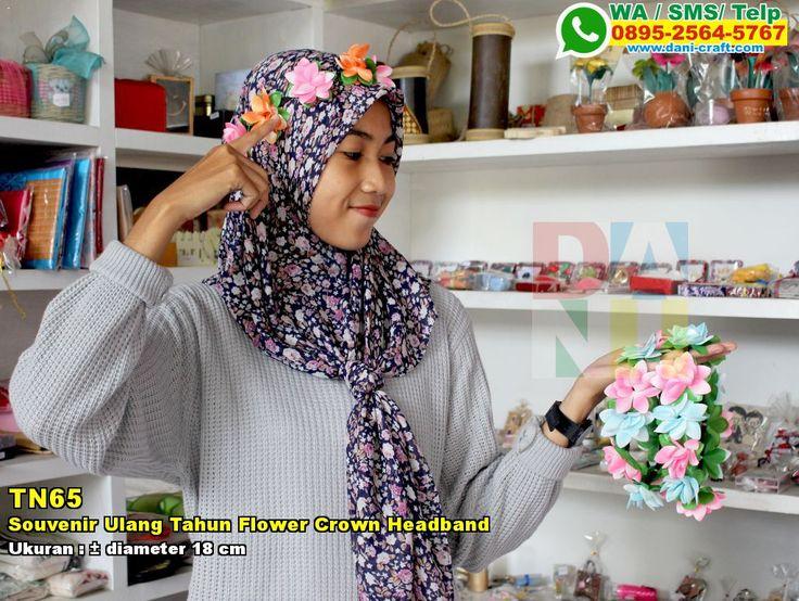 Souvenir Ulang Tahun Flower Crown Headband WA/SMS/TELP 0896 3012 3779 #SouvenirUlang #DistributorUlang #desainundanganPernikahan #souvenirMurah