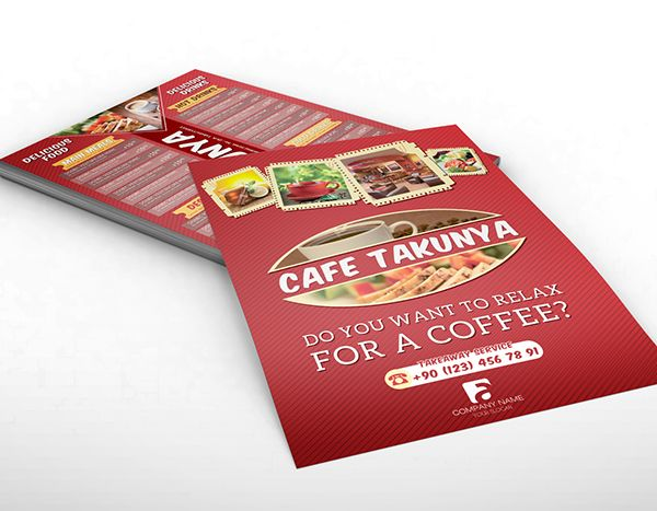 "For restaurants a menu is a good way to advertise your business. It is an inexpensive mandatory printed material and makes a great ""take out menu"". When printing your menu on a cardstock flyer it is all in the design, because you printed a cheap flyer doesn't mean it has to look cheap! Save on the printing cost and hire a professional graphic designer (Top Class offers this service), visuals are very important in the food industry."