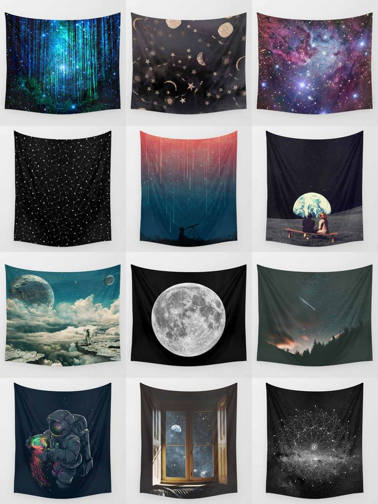 Society6 Space Tapestries - Society6 is home to hundreds of thousands of artists from around the globe, uploading and selling their original works as 30+ premium consumer goods from Art Prints to Throw Blankets. They create, we produce and fulfill, and every purchase pays an artist.