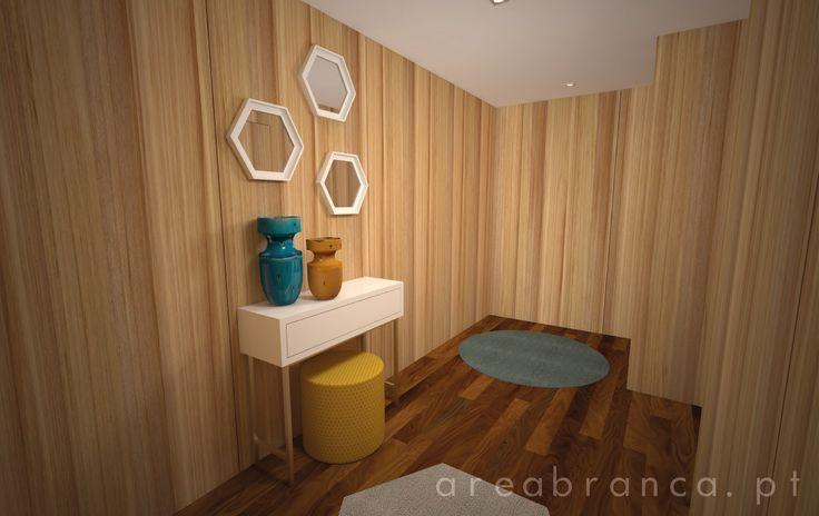 Hall | Entrada #Areabranca #DesignInteriores #InteriorDesign #Hall #Decor #Wood