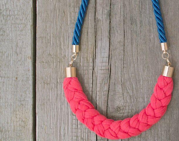 Nautical necklace by Zojanka SUMMER Necklace van Zojanka - Handmade Accessories op DaWanda.com