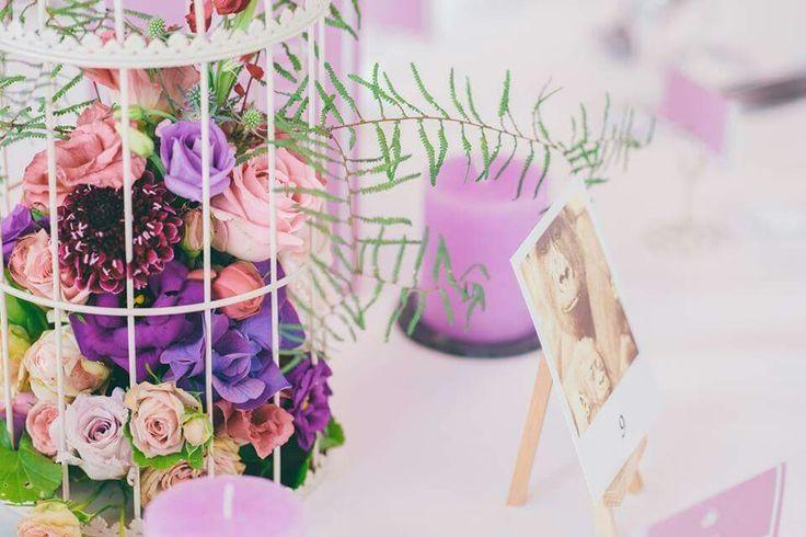 Bird Cage Flowers Wedding Hochzeit Blumenmädchen Köln