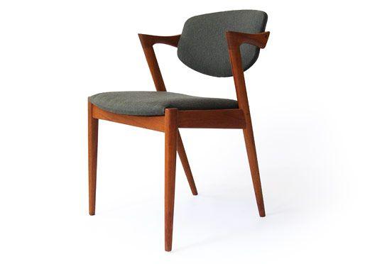 Designed by kai kristiansen the backrest pivots awesome chairs pinterest teak chairs - Kai kristiansen chair ...