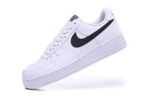 8d45c0d1d25 Mens Womens Nike Air Force 1 07 Starlet White Black AA4083 103 Running Shoes