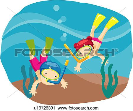 Two Men Lifestyle Scuba Diving Summer Vacation Traveling View Large Clip Art Cruise VacationSummer VacationsVacation TravelBeach