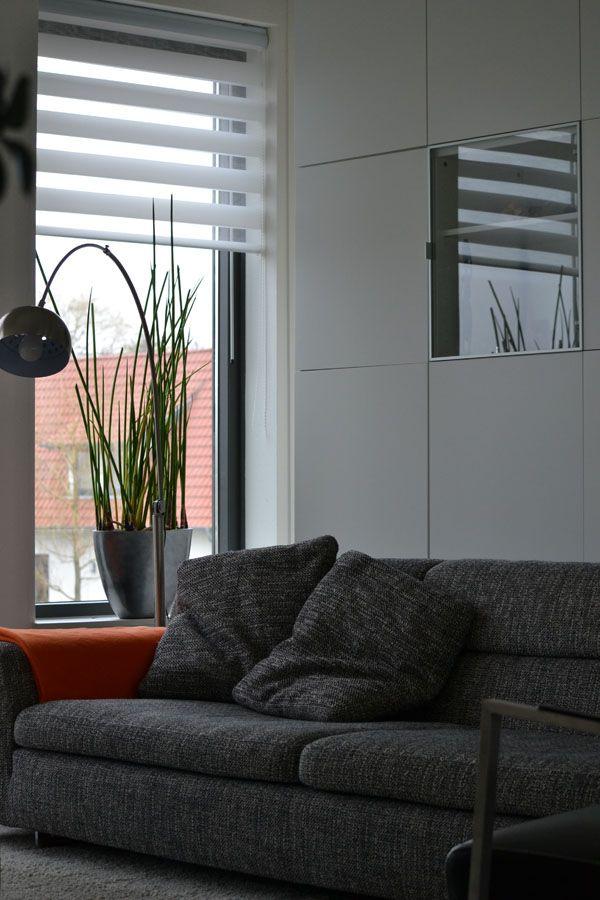 Interieurplan woonkamer door binnenkijken interieuradvies beuningen naturel oranje orange - Deco lounge huis schilderen ...