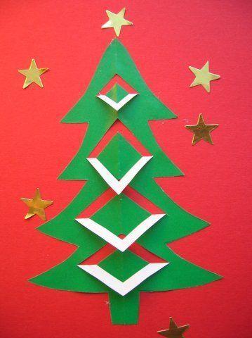 Bildergebnis für tarjetas de navidad manualidades Navidad