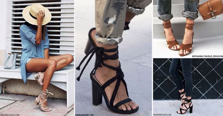 If the mention of the word 'summer' has you immediately considering your sartorial choices, we don't blame you. This year, when you're dreaming of floaty boho dresses and tanned bare limbs, consider another addition to your holiday-ready repertoire – a wrap-around heel, the fashionista's new favourite.