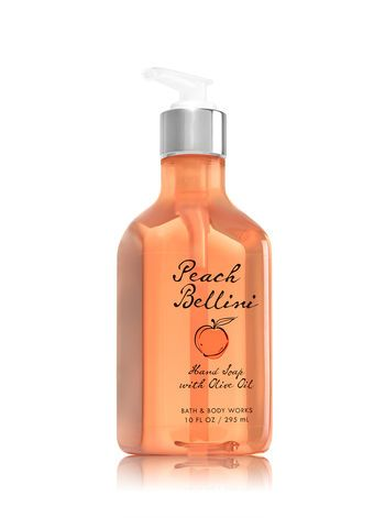Peach Bellini Hand Soap with Olive Oil - Bath And Body Works