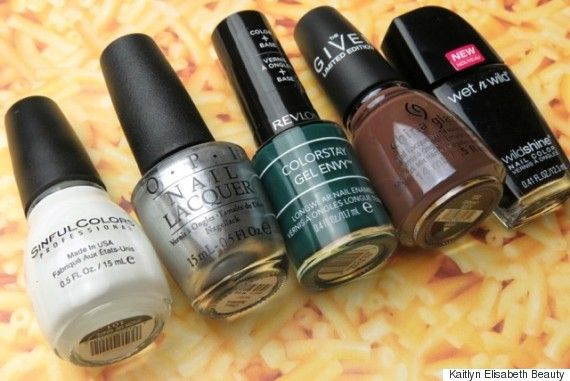 Celebrate Super Bowl 50 With This Nail Art Design