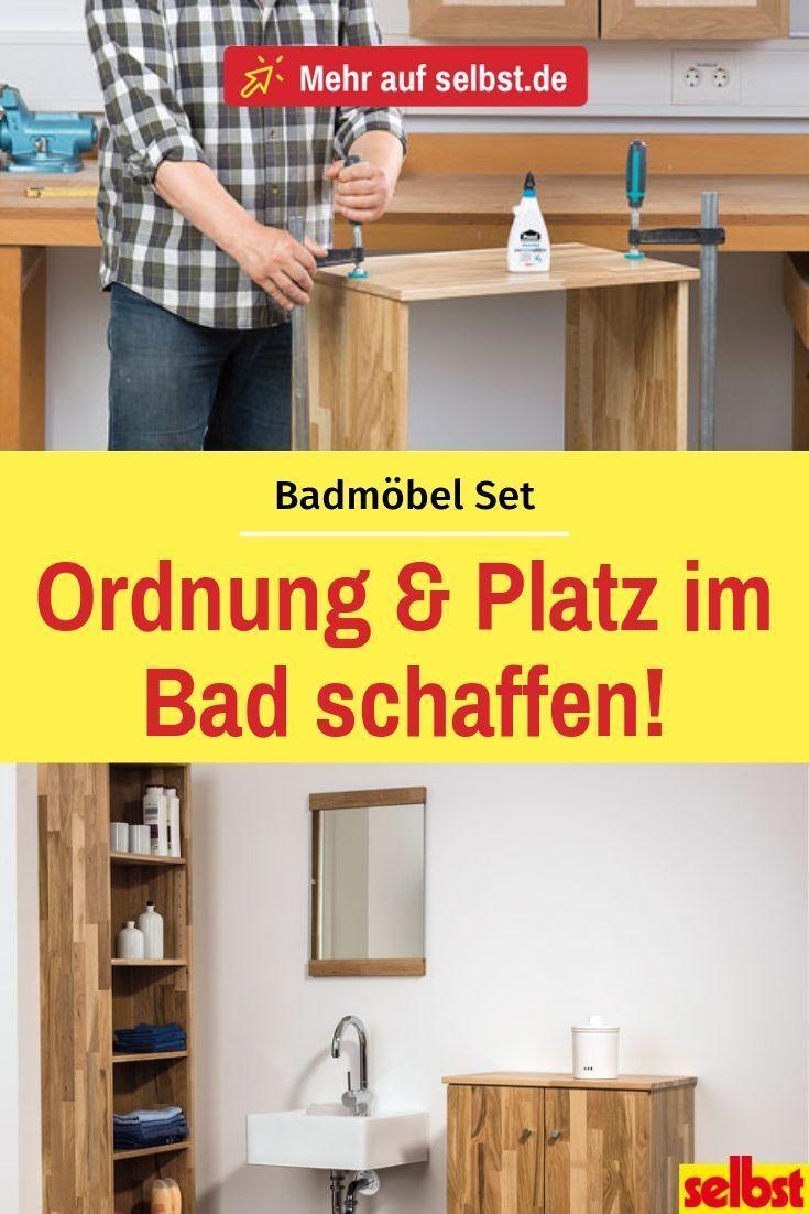 Badmobel Set Selbst De Schrank Selber Bauen Badmobel Set Badmobel Holz